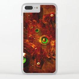 Manometer Clear iPhone Case