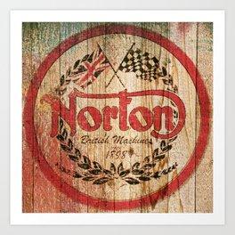Norton Art Print