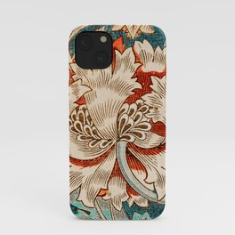 Honeysuckle (1876) by William Morris, Abstract I Poster iPhone Case