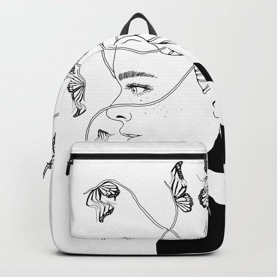 Figments II (Head Full of Broken Realities) Backpack