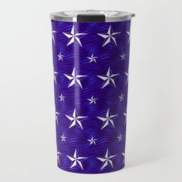 Stella Polaris Navy Blue Design Travel Mug
