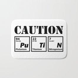 caution Putin Bath Mat