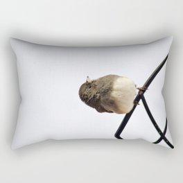 Pretty Winter Junco Rectangular Pillow