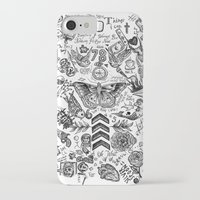 tattoos iPhone & iPod Cases featuring OT5 Tattoos by tash