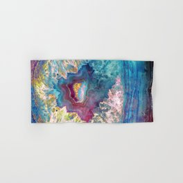 Abalone Geode Hand & Bath Towel