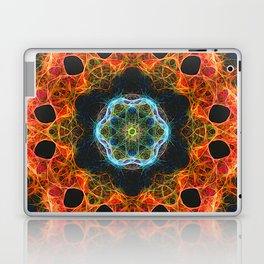 Fiery barnacle kaleidoscope Laptop & iPad Skin