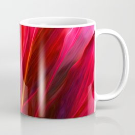 Red Ti Leaf Coffee Mug