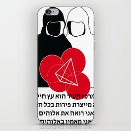 Jew Boy Vs. Reaper Man iPhone Skin