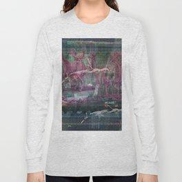 Glitch Zoo Chaos Long Sleeve T-shirt