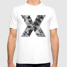 Malcolm x Mens Fitted Tee MEDIUM White