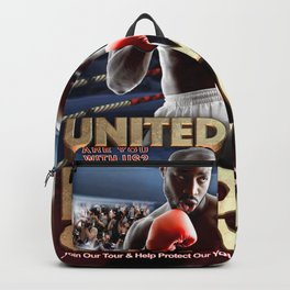 Legends of Boxing Knockout Tour Backpack