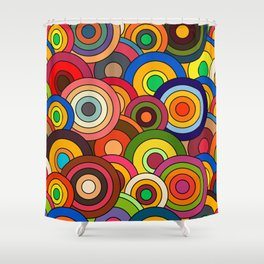 African Style No12 Celebration Shower Curtain