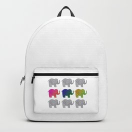 Nine Elephants Backpack