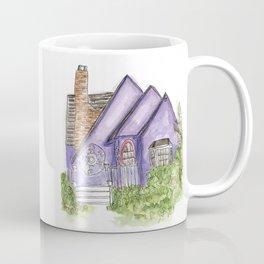 Purple House Coffee Mug