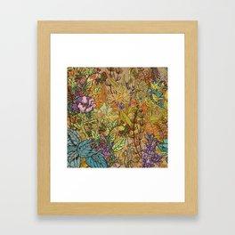 Floral Garden Framed Art Print