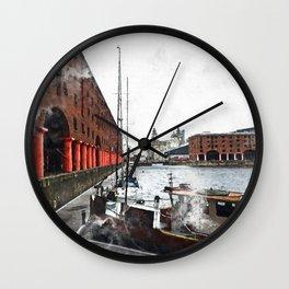 Liverpool Docks Wall Clock