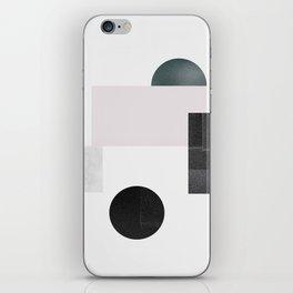 Black ball iPhone Skin