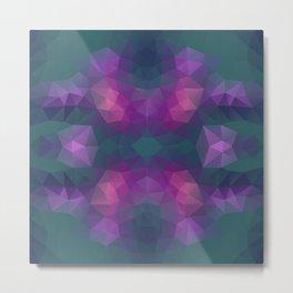 Mozaic design in bright colors Metal Print