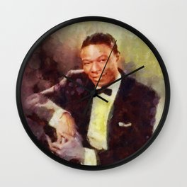 Nat King Cole by SK Wall Clock