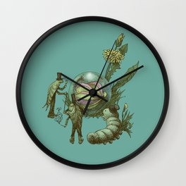 It Fell From The Sky  Wall Clock