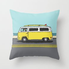 Surf Series | The Search Throw Pillow