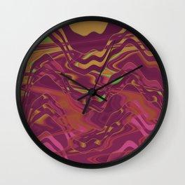 Currly Wirrly Wall Clock
