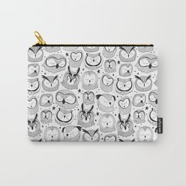 Sleeping Owls Carry-All Pouch