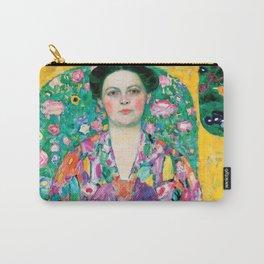 "Gustav Klimt ""Eugenia Primavesi"" Carry-All Pouch"