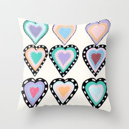 Love Has Many Colors Throw Pillow