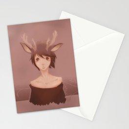 lil reindeer Stationery Cards