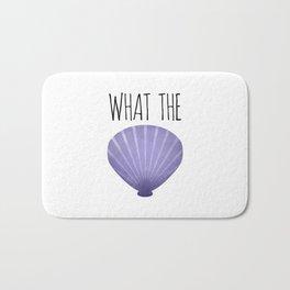 What The Shell Bath Mat