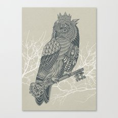 Owl King Canvas Print
