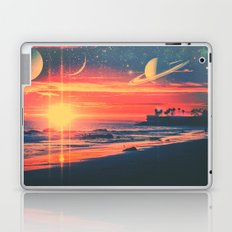 A Fax From the Beach Laptop & iPad Skin
