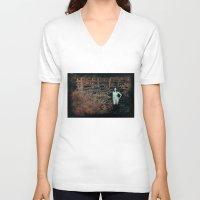 gypsy V-neck T-shirts featuring Gypsy by Sirenphotos