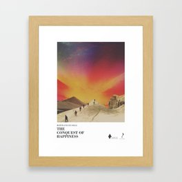 The conquest of happiness - Literary Art series Framed Art Print