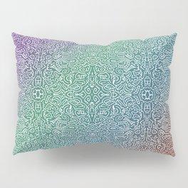 pointy gradient pattern Pillow Sham