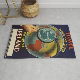 Vintage poster - Ireland Rug