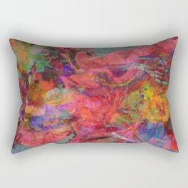 Summer Blur Rectangular Pillow