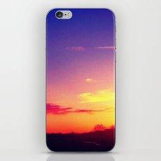 Colourful Sunset iPhone & iPod Skin