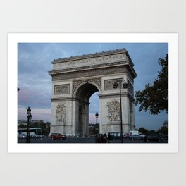 Arc de Tiomphe Art Print