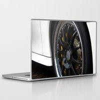 porsche Laptop & iPad Skins featuring Porsche Wheel by loveydovey