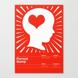 Forrest Gump Canvas Print