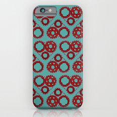 Bicycle Gear Heart close up iPhone 6s Slim Case