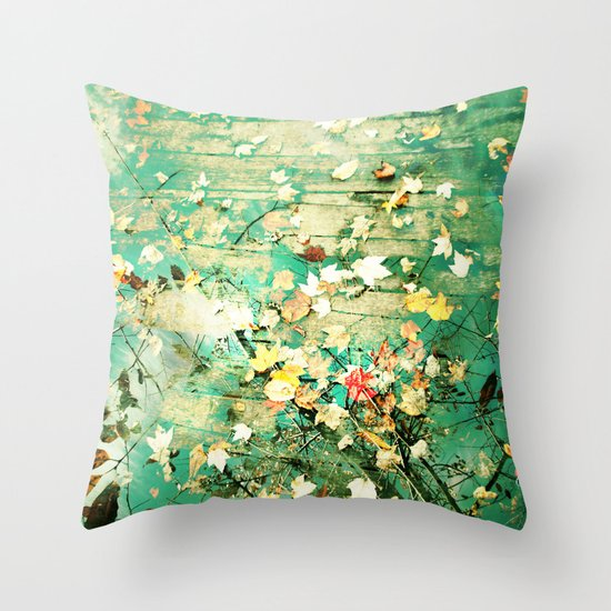 Turning a New Leaf Throw Pillow