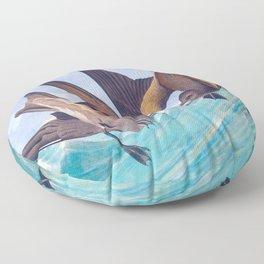 Fork-Tailed Storm Petrel Bird Floor Pillow