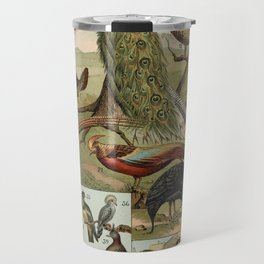Birds of the World Travel Mug
