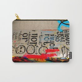 Love Letter in Krog Street Tunnel Carry-All Pouch