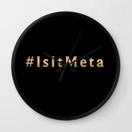 #isitmeta preseason Wall Clock