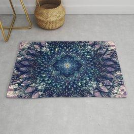 Purple Mandala II Rug
