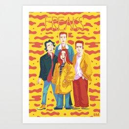 Freaks Art Print